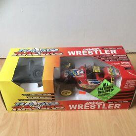 Riko Demon Wrestler radio controlled car