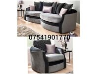🚚Brand new Olivia snuggle sofa(extra chair)Free delivery