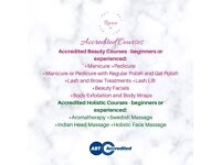 Accredited Beauty and Holistic Courses