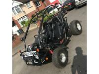 Quadzilla road legal buggy quad 250 years mot