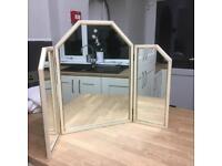 Tri-fold Vanity Mirror