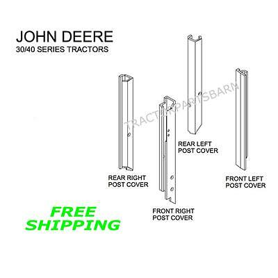 John Deere New Black Post Kit 4030 4040 4230 4240 4430 4440 4630 4640 4840 4040