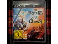 Battle vs Chess PS3 game as new