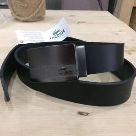 Lacoste leather belt