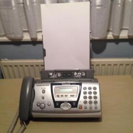 Panasonic fax, phone and copier