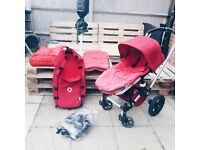 bugaboo gecko pushchair with accessories