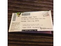 For Sale 2 tickets to Kendal Calling festival £160 each