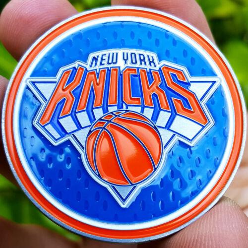 PREMIUM NBA New York Knicks Poker Card Guard Chip Golf Marker Challenge Coin