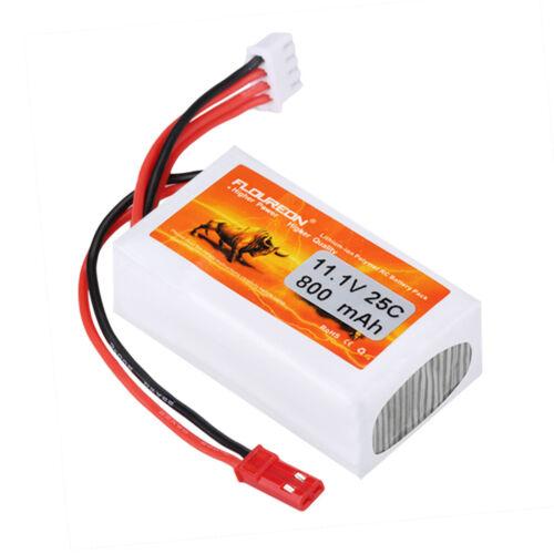 3S 11.1V 800mAh 25C LiPo Battery T Plug For RC Car Truggy Ai