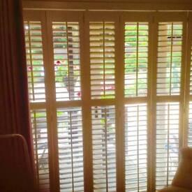 Bi-fold internal shutters