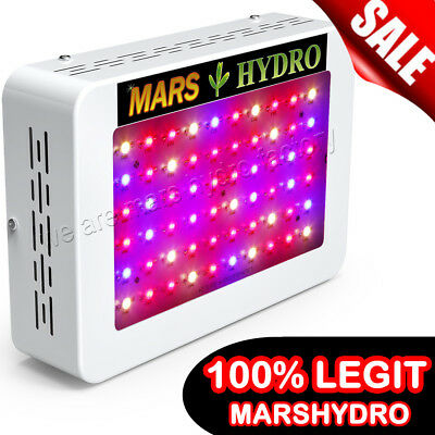 Mars Hydro 300W LED Grow Light Full Spectrum Veg Flower Indoor Plant Lamp Panel