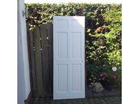 Interior door, internal timber door, 6 panel