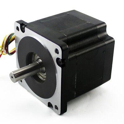 Nema34 Stepper Motor 906 Oz In 6.1a Single Shaft Kl34h295-43-8a