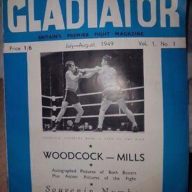 MagazineGladiator vintage boxing 1949