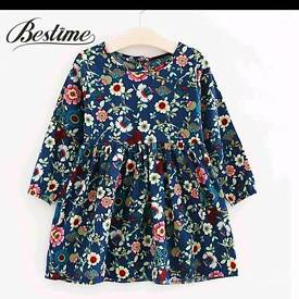 Age 3 years floral dress