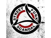 Scandal (streetpunk band ) looking for lead guitarist
