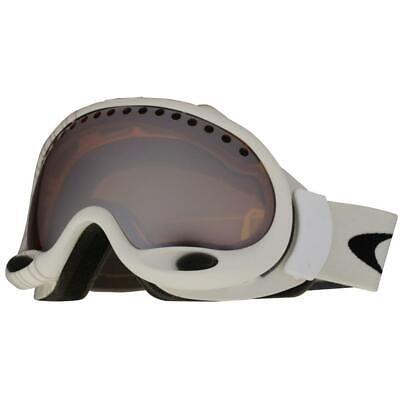 Oakley 02-867 A Frame Shaun White Stripe Black Iridium Mens Snow Ski Goggles .