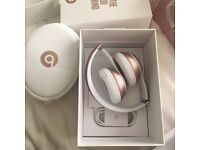 Beats by Dr. Dre Solo 2 Wireless Headband Rose Gold
