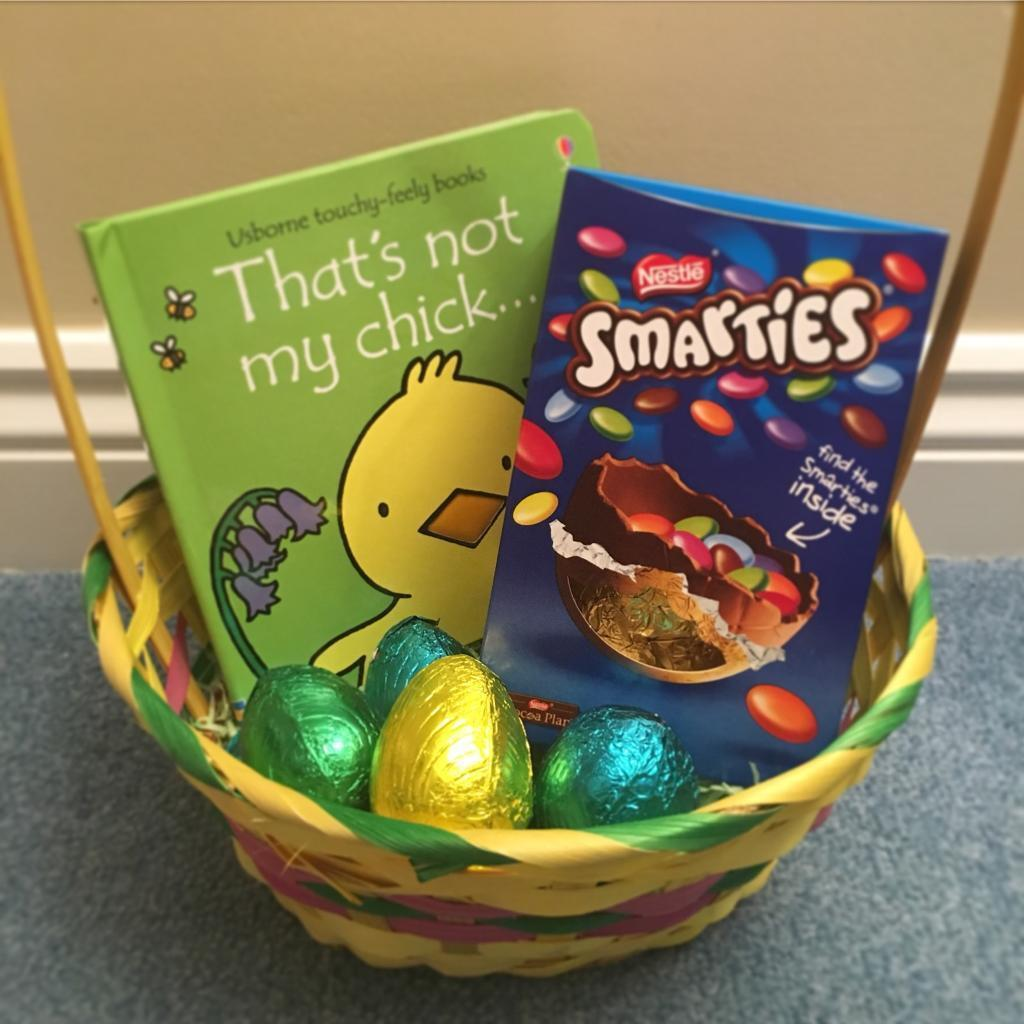 Easter baskets with chocolate and books from only 699 easter baskets with chocolate and books from only 699 delivered negle Image collections