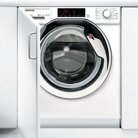 Hoover HBWM814TAHC Integrated 8Kg Washing Machine with 1400 rpm - A+++ Rated - COLLECT OR DELIVERY