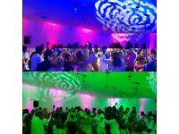 Wedding reception lighting hire