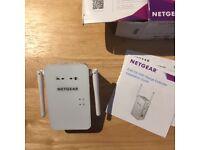 Netgear - AC750 Dual-band Wi-Fi Range Extender