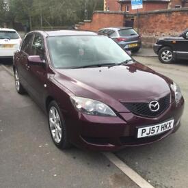 Purple 57 Plate Mazda 3 for sale