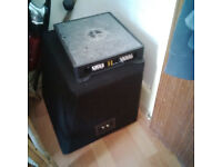 boxed pioneer sub woofer 1400 w 12 inch with box