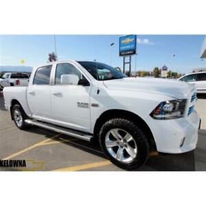 2014 Ram 1500 Sport Crew | Sunroof | Vented Seats | Navigation