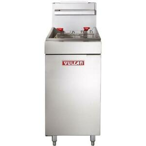 VULCAN BRAND NEW 40 LB GAS OR PROPANE DEEP FRYERS - WOW PRICING!!!!!!!