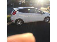 Fiesta 3 Door. White. Low miles. FSH. 2 owners. Manual. Low road tax. Low insurance. Good tyres.