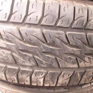 """6 X 5.5 BOLT CHEVY 16"""" RIMS WITH KUMHO MOHAVE 255/70R16 TIRES 80% TREAD"""