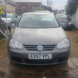 Voklswagon Golf diesel automatic 5dr Full service history