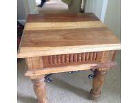 Wood coffee table sheesham