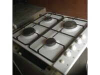 Gas hob,white,neff, immaculate order,£35.00