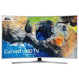 "SAMSUNG UE55MU6500 55"" Smart 4K Ultra HD HDR Curved LED TV"