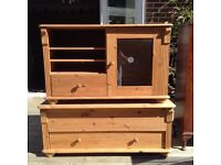 Solid pine furniture ideal for painting/upcycling