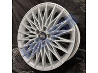 BB2* 4X NEW ALLOY WHEELS 18 INCH RS ALLOYS AUDI VW SEAT SKODA 5X112 BBS MESH STYLE