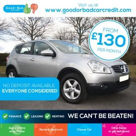 Nissan Qashqai 2.0 Acenta CVT 4WD / Drive Away Today!