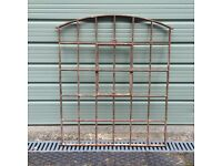 Reclaimed Victorian Cast Iron Arched Window