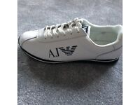Armani Trainers never worn 10/10 condition size 9