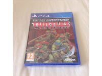 LOOK BRAND NEW SEALED TEENAGE MUTANT NINJA TURTLES GAME FOR PS4