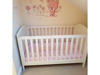 Mamas and Papas Cot bed - Ashford range