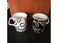 Set of 6 Mugs New £8