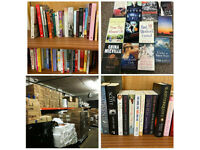 REDUCED SALE, - NEW 5,000 books Fiction and Non Fiction OUR price £1,600