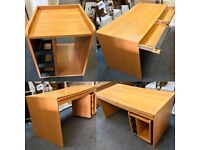 """""""Ikea Anton"""" Office Table & Cabinet"""