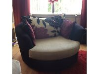 Possible swap **Reduced **Corner sofa and swivel chair