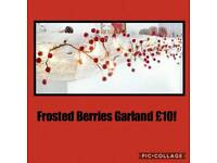 Frosted Berries Garland