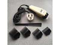 WAHL Hair Trimmer Plus Accessories (needs sharpening)