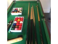 Pool table and all accessories